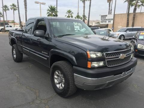 2005 Chevrolet Silverado 2500HD for sale at Inland Auto Exchange in Norco CA
