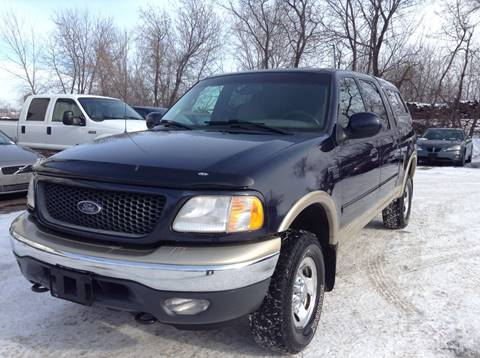 2001 Ford F-150 for sale in Cambridge, MN