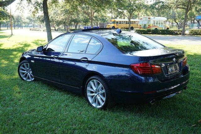 2011 BMW 5 Series for sale at Corporate Cars USA in Fort Lauderdale FL