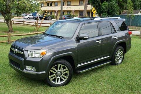 2013 Toyota 4Runner for sale at Corporate Cars USA in Fort Lauderdale FL