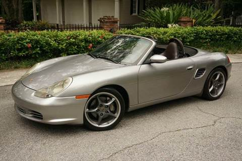 2004 Porsche Boxster for sale at Corporate Cars USA in Fort Lauderdale FL