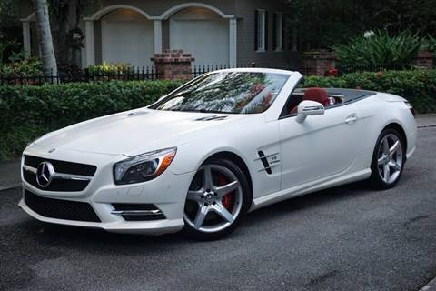 2014 Mercedes-Benz SL-Class for sale at Corporate Cars USA in Fort Lauderdale FL