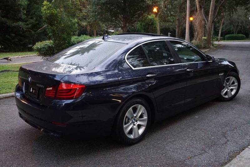 2013 BMW 5 Series for sale at Corporate Cars USA in Fort Lauderdale FL
