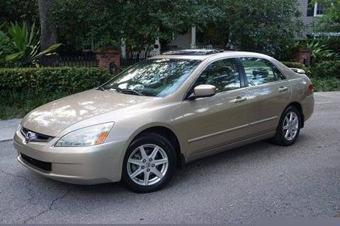 2004 Honda Accord for sale at Corporate Cars USA in Fort Lauderdale FL