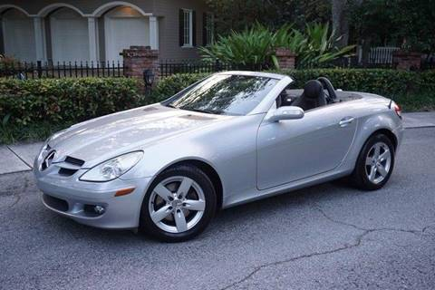 2006 Mercedes-Benz SLK for sale at Corporate Cars USA in Fort Lauderdale FL
