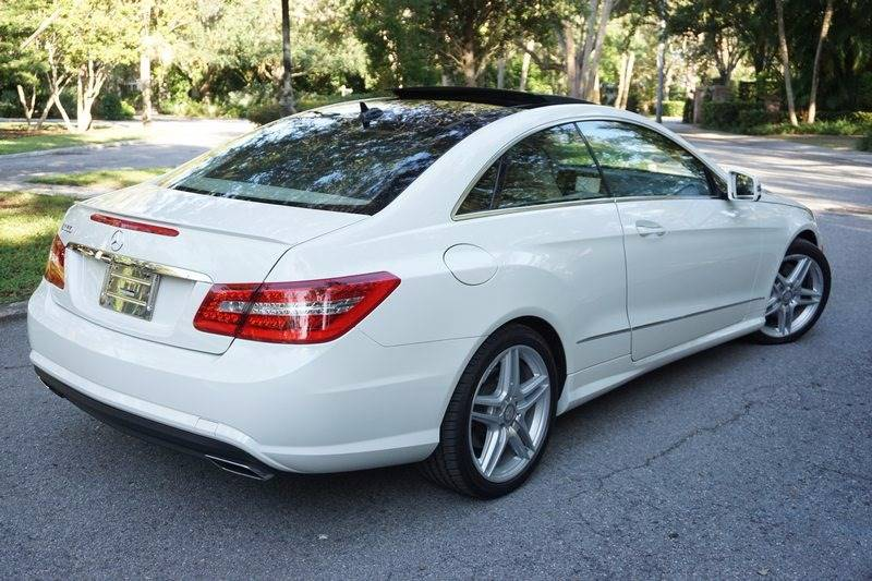 2011 Mercedes-Benz E-Class for sale at Corporate Cars USA in Fort Lauderdale FL