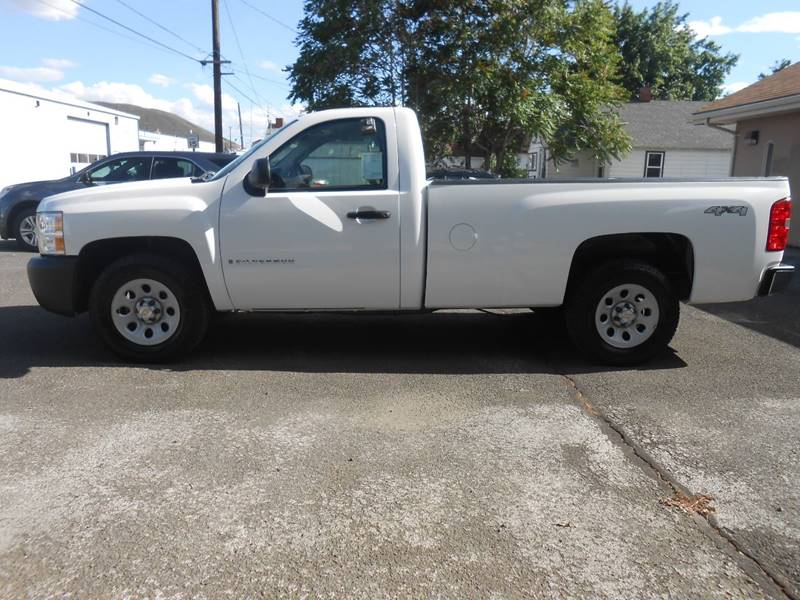2008 Chevrolet Silverado 1500 4WD Work Truck 2dr Regular ...
