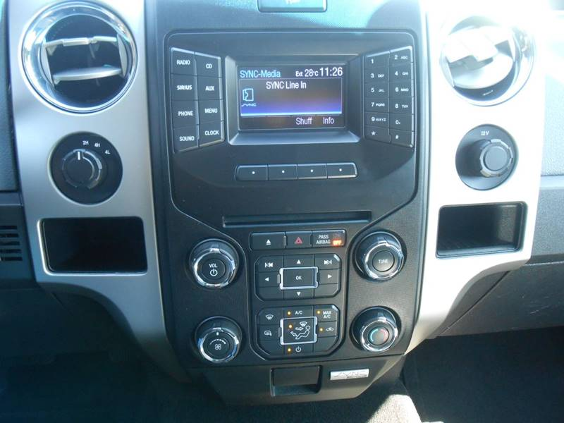 2013 Ford F-150 4x4 XLT 4dr SuperCab Styleside 6 5 ft  SB In