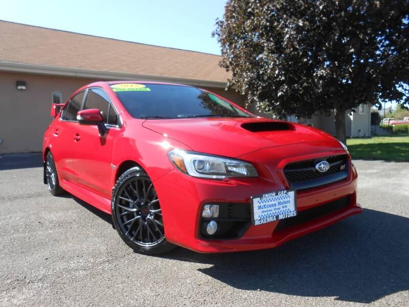 2015 Subaru WRX for sale at McKenna Motors in Union Gap WA