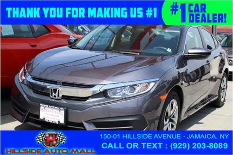 2016 Honda Civic for sale in Jamaica, NY