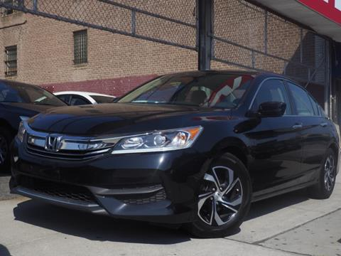 2016 Honda Accord for sale in Jamaica, NY
