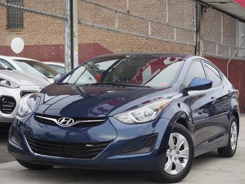 2016 Hyundai Elantra for sale in Jamaica, NY