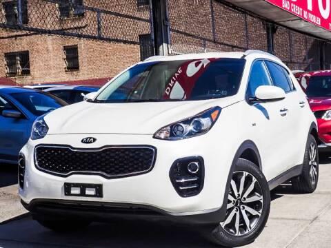 2017 Kia Sportage for sale at HILLSIDE AUTO MALL INC in Jamaica NY