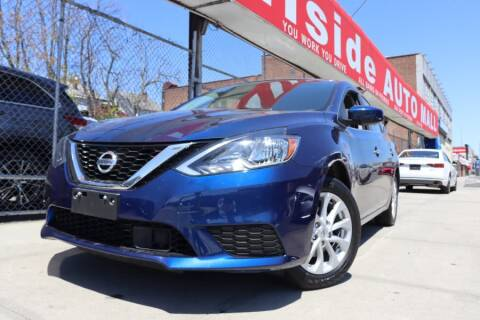 2019 Nissan Sentra for sale at HILLSIDE AUTO MALL INC in Jamaica NY