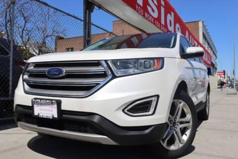2017 Ford Edge Titanium for sale at HILLSIDE AUTO MALL INC in Jamaica NY