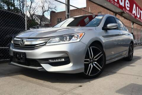 2017 Honda Accord for sale at HILLSIDE AUTO MALL INC in Jamaica NY