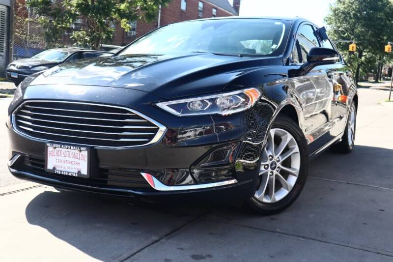 2019 Ford Fusion Hybrid for sale at HILLSIDE AUTO MALL INC in Jamaica NY