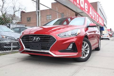 2019 Hyundai Sonata for sale at HILLSIDE AUTO MALL INC in Jamaica NY