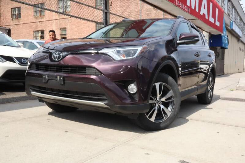 2017 Toyota RAV4 for sale at HILLSIDE AUTO MALL INC in Jamaica NY