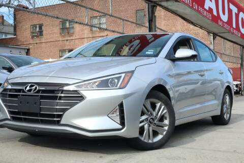 2019 Hyundai Elantra for sale at HILLSIDE AUTO MALL INC in Jamaica NY
