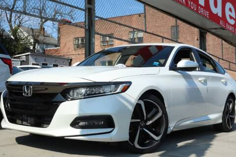 2018 Honda Accord for sale at HILLSIDE AUTO MALL INC in Jamaica NY
