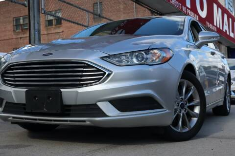 2017 Ford Fusion for sale at HILLSIDE AUTO MALL INC in Jamaica NY