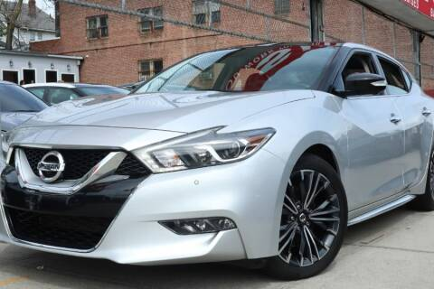 2017 Nissan Maxima for sale at HILLSIDE AUTO MALL INC in Jamaica NY