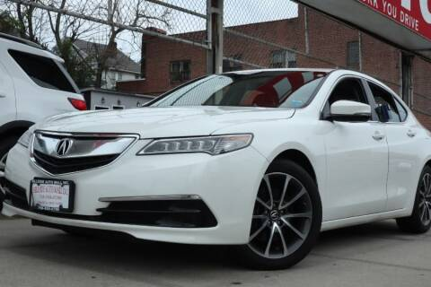 2017 Acura TLX for sale at HILLSIDE AUTO MALL INC in Jamaica NY