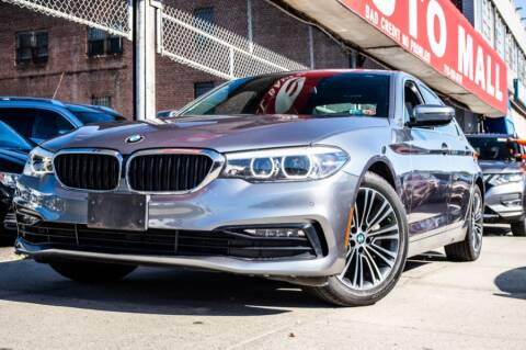 2017 BMW 5 Series for sale at HILLSIDE AUTO MALL INC in Jamaica NY