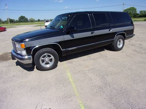 1997 GMC Suburban for sale in Mount Morris, MI