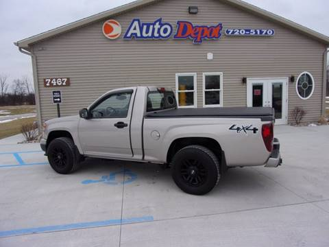 2009 Chevrolet Colorado for sale at The Auto Depot in Mount Morris MI