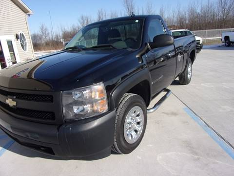 2007 Chevrolet Silverado 1500 for sale at The Auto Depot in Mount Morris MI