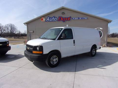 2012 Chevrolet Express Cargo for sale at The Auto Depot in Mount Morris MI