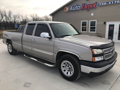 2007 Chevrolet Silverado 1500 Classic for sale at The Auto Depot in Mount Morris MI