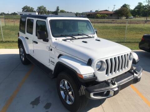 2018 Jeep Wrangler Unlimited for sale at The Auto Depot in Mount Morris MI