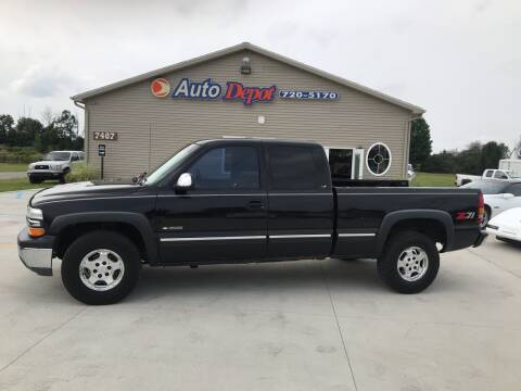 2000 Chevrolet Silverado 1500 for sale at The Auto Depot in Mount Morris MI