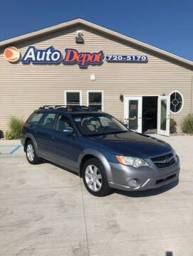 2008 Subaru Outback for sale at The Auto Depot in Mount Morris MI