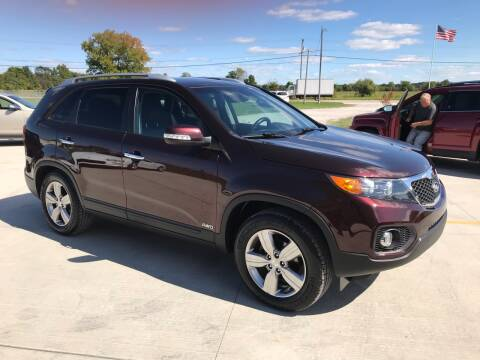 2012 Kia Sorento for sale at The Auto Depot in Mount Morris MI