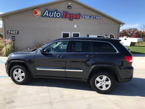 2012 Jeep Grand Cherokee for sale at The Auto Depot in Mount Morris MI