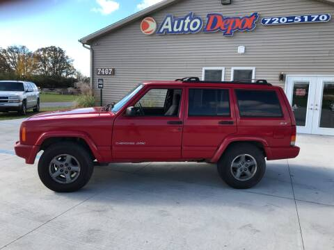 1999 Jeep Cherokee for sale at The Auto Depot in Mount Morris MI