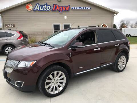 2012 Lincoln MKX for sale at The Auto Depot in Mount Morris MI