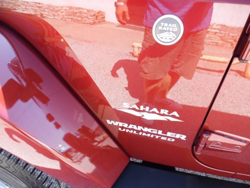 2007 Jeep Wrangler Unlimited 4x4 Sahara 4dr SUV - Springfield NE