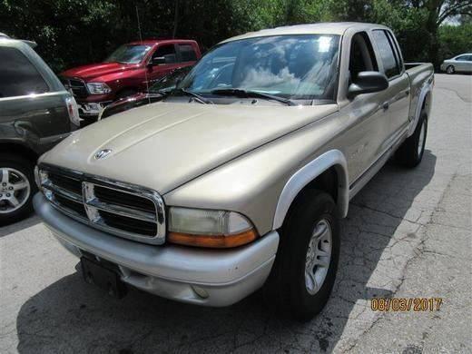 2002 Dodge Dakota 4dr Quad Cab SLT 4WD SB - Springfield NE