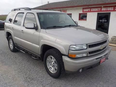 2005 Chevrolet Tahoe for sale in Springfield, NE