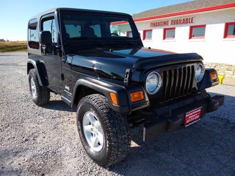 2006 Jeep Wrangler for sale in Springfield, NE