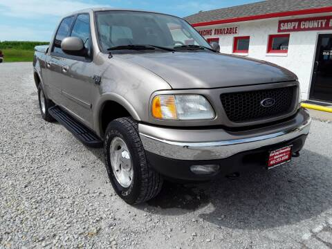 2003 Ford F-150 for sale at Sarpy County Motors in Springfield NE