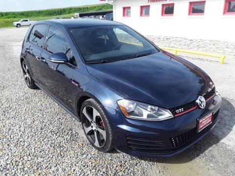 2017 Volkswagen Golf GTI for sale at Sarpy County Motors in Springfield NE