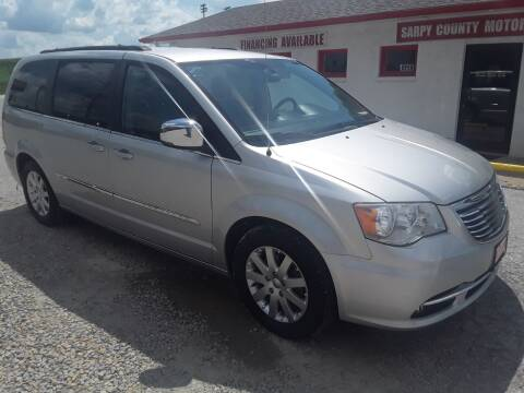 2012 Chrysler Town and Country for sale at Sarpy County Motors in Springfield NE