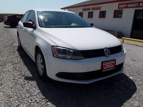 2012 Volkswagen Jetta for sale at Sarpy County Motors in Springfield NE
