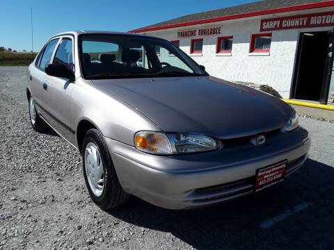 1999 Chevrolet Prizm for sale at Sarpy County Motors in Springfield NE